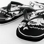 Kicks Frau schwarz weiß