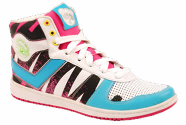 Pony City Wings Cosmo High weiß / hell blau / pink