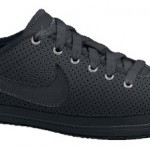 Nike Flash Glattleder in schwarz