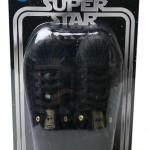 Der Adidas Star Wars X Super Star Dearth-Vader Sneaker in der Verpackung