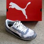 Der schöne Schuh mit dem schönen Karton