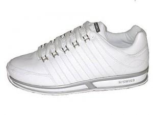 Der K-Swiss Oxboro Sneaker in weiß platinum - das Ebay WOW des Tages