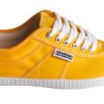 Der Kawasaki Players Sneaker im farbenfrohen gelb