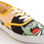Der Victoria Inglesa Dibujos Amarillo Sneaker