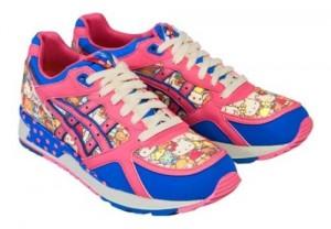 Eher was für Fans - der Hello Kitty Sneaker von Asics