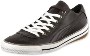 Der lo top Sneaker Puma 917 lo in der Farbe black coffee