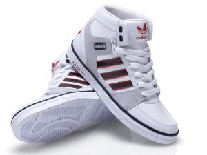 weiß mohnrot Sneaker Winter 2012