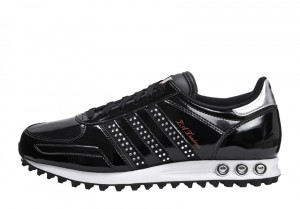 adidas sneaker la trainer schwarz