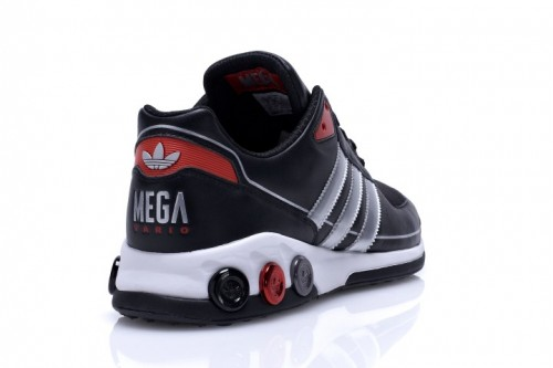 adidas Mega Vario schwarz & silber Schuh