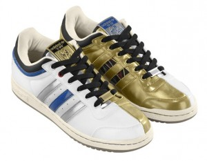 adidas originals x star wars top ten lo in der c3po r2d2 edition