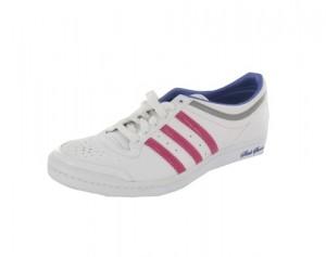 Der adidas top 10 HI SLEEK in weiß & pink - ab sofort bei Foot Locker erhältlich