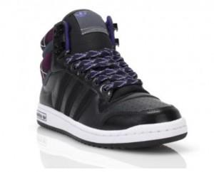 adidas top 10 hi in violett & schwarz (Foot Locker exklusiv)