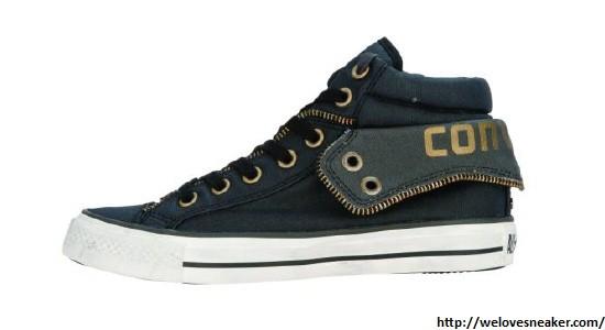 Converse Pad Coll 2 schwarz Strickoptik