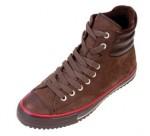 Der braune Ledersneaker von Converse für den Winter - der Padded Collar