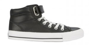 Converse Padded Collar Loopback in schwarz