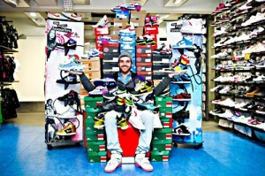 "Der glückliche Gewinner des ""Sneakers for Life"" Contest: Ian-Mathieu Oullet aus Lille"