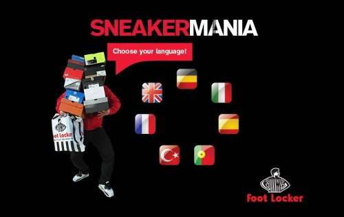 Foot Locker Sneakermania