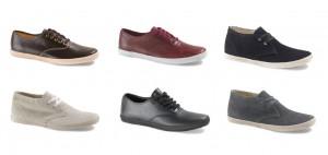 Die Keds Leather Styles aus der Herbstkollektion 2010 für Männer