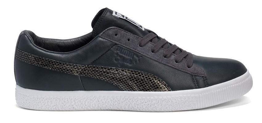 Puma Clyde Sneaker schwarz