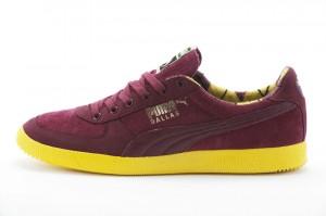 Puma Dallas x Hanon Sneaker in Burgund