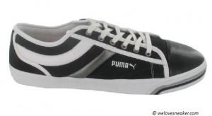 Der Puma Excurse in schwarz, silber und weiß