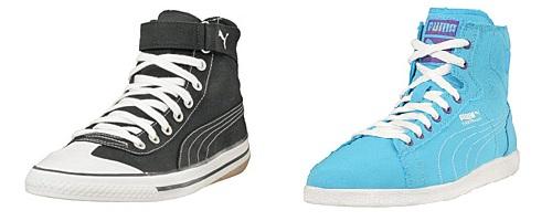 Puma 917 schwarz & Puma First Round hellblau Sneaker