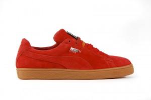 Puma Suede Sneaker rot
