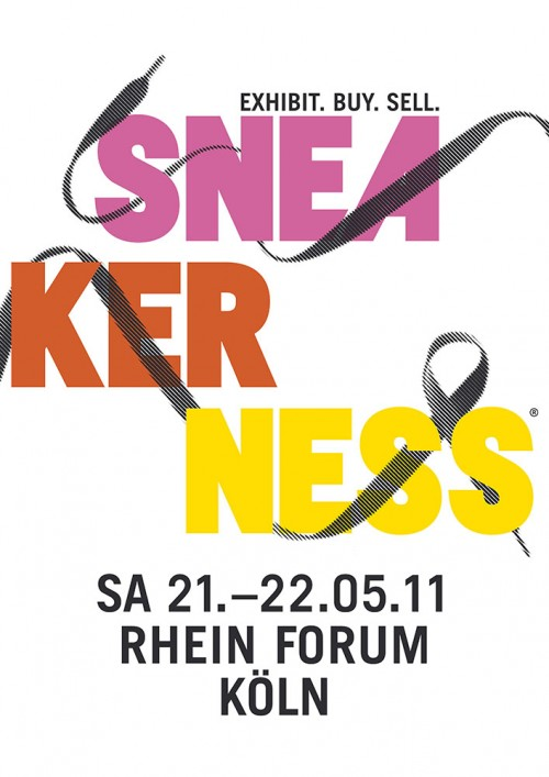 Alle Informationen zur Sneakerness in Köln (Mai 2011)