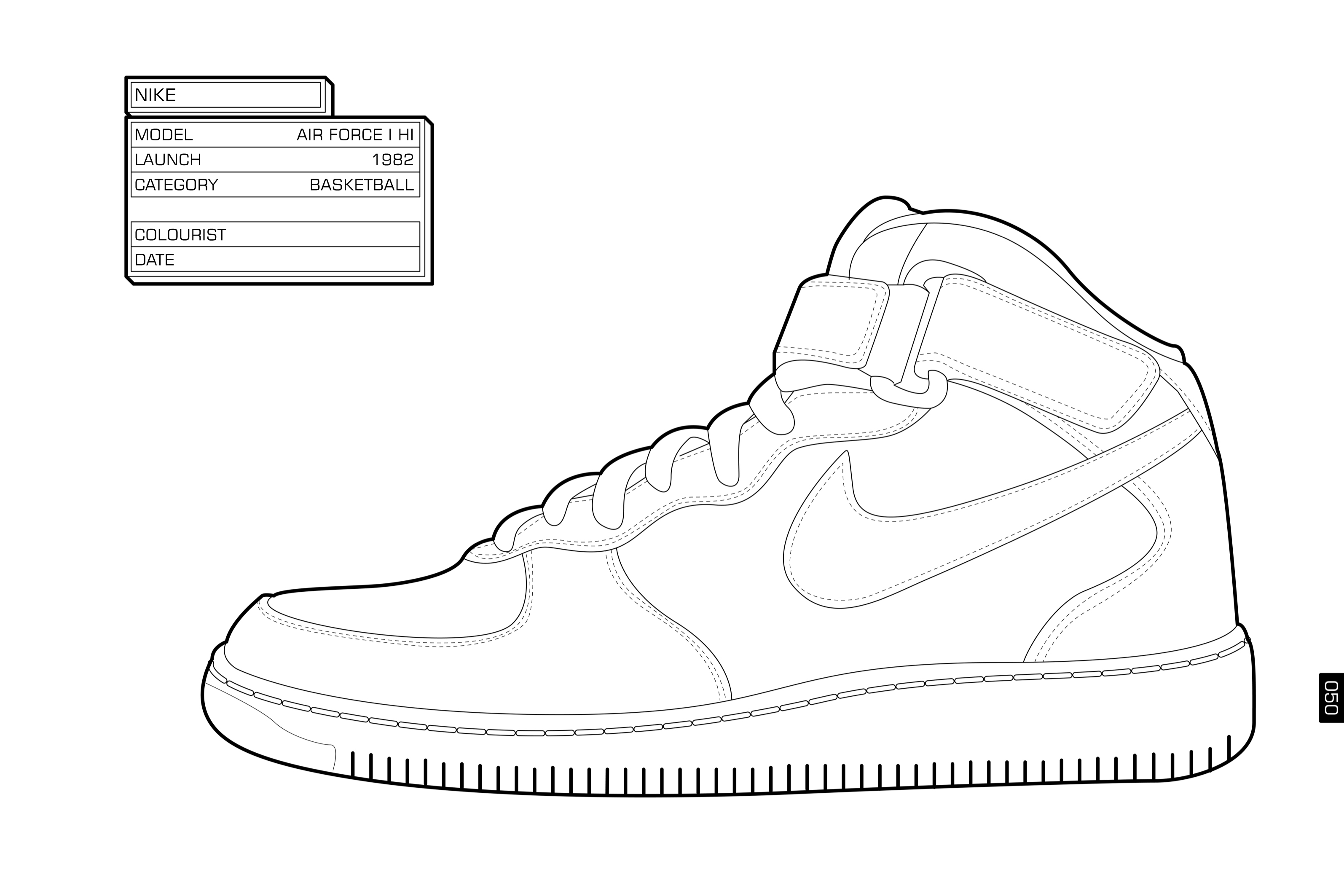 Tennis shoes coloring pages - Printable Jordan Coloring Pages The Sneaker Colouring Book Welovesneaker