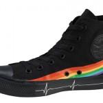 Converse Pink Floyd - schwarz Regenbogen