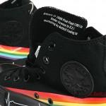 Converse Pink Floyd - Bestickung der Sonderkollektion