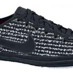 Nike Flash Stoff in schwarz und weiß