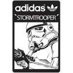 Das Logo der bald erscheinen Adidas Stormtrooper Kollektion