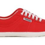 Der Kawasaki Players Sneaker in rot