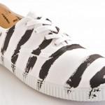 "Der Victoria Inglesa ""Rayas pintura"" Sneaker"