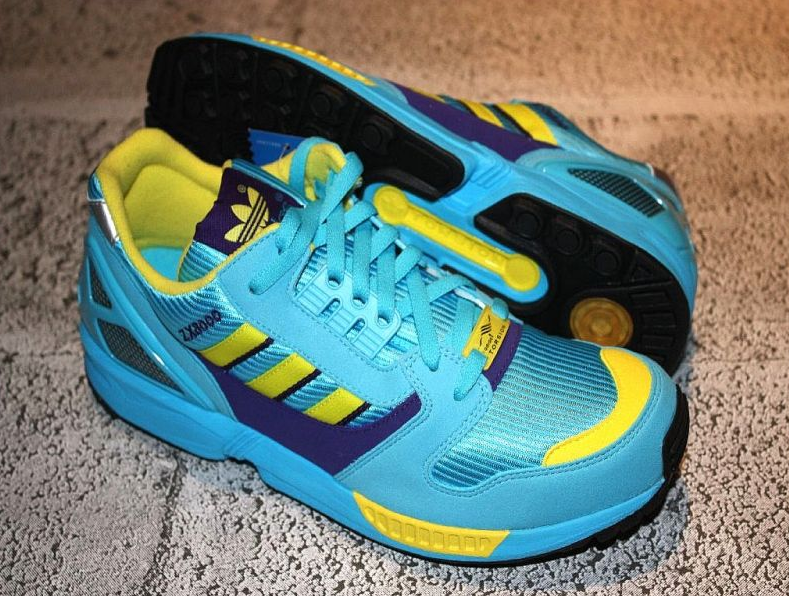 ADIDAS ZX FLUX Retro Runningschuh electric blue