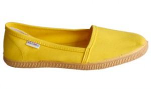 Der gelbe (amarillo) Victoria Slipper lässt den bisher tristen Sommer vergessen!