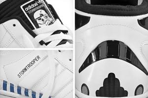 Das erste Bild der Star Wars Stormtrooper Sneaker von Adidas Originals