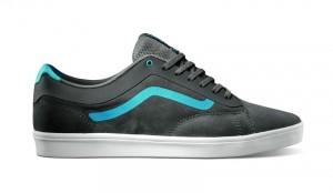 Grau-hellblaue Variante des Ortho Sneakers