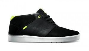 Secant Sneaker von Vans in schwarz mit gelben Akzenten