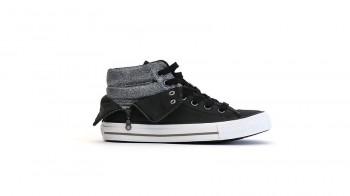 Zip Converse Sneaker schwarz