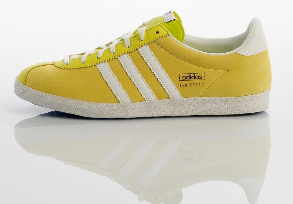 Adidas Gazelle Grün Gelb