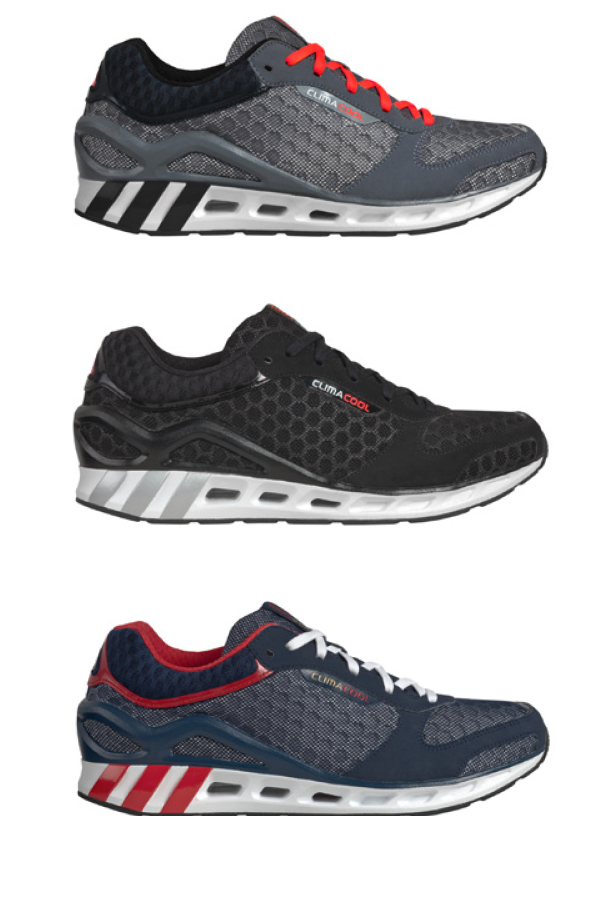 Bild der adidas ClimaCool Sneaker in schwarz, grau und blau