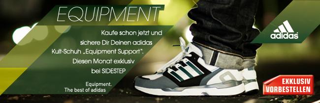 Jetzt den adidas Equipment Support 2010 bei sidestep vorbestellen & exklusiv ab 1. November erhalten!