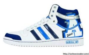 adidas hard court hi blau Chipmunk blau