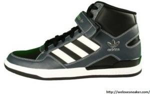 adidas hard court hi Sneaker schwarz-grau