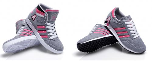 adidas hard court hi la trainer sneaker