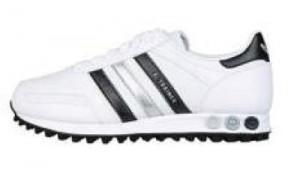 adidas la trainer in schwarz und silber aus der Karate Kit Edition