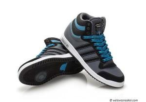 Sneaker Caddy - der türkis schwarze adidas top 10 Sneaker