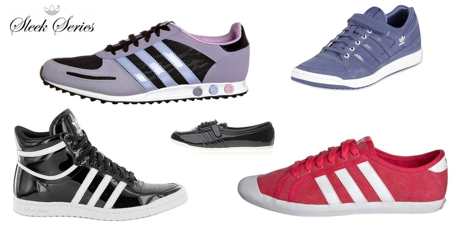 Adidas Damen Schuhe Sleek Series.